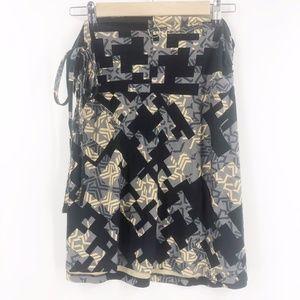 Patagonia Ruched Organic Cotton Skirt Large